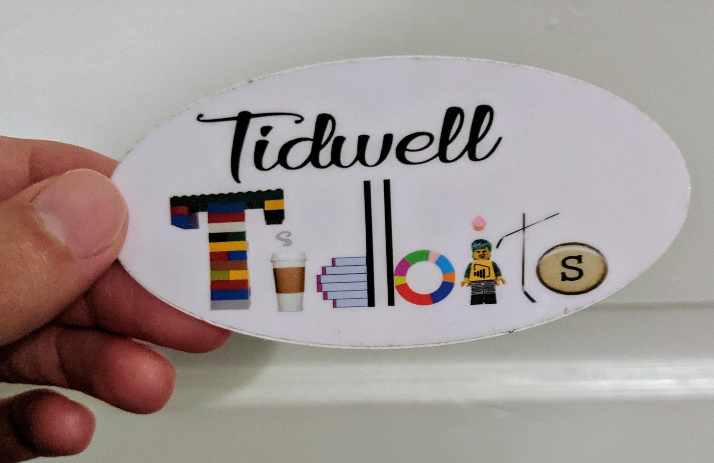 Photo of Tidwell's Tidbits sticker